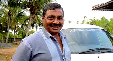 Lal Antony - Private driver and guide - Fernando Tours Sri Lanka